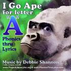 I Go Ape children&#039;s educational phonics musical CD