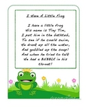 I Have A Little Frog Poetry Journal