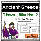 """I Have, Who Has"" Ancient Greece Review Game"