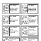 """I Have, Who Has"" Animals Game: Vocabulary, Word Walls"