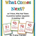 &quot;I Have, Who Has?&quot; Game - What Comes Next? Counting Sequen