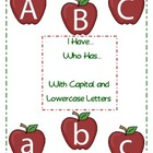 I Have, Who Has... Letters (Apples)
