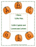 I Have, Who Has... Letters (Pumpkins)