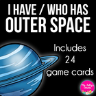I Have, Who Has Outer Space Game