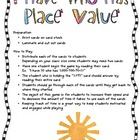 I Have Who Has - Place Value