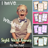 I Have, Who Has Sight Word Games