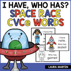 I Have, Who Has-Space Race (cvce words)