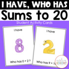 I Have-Who Has: Sums to Twenty