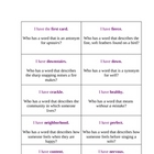 I Have, Who Has Vocabulary - Macmillan/McGraw-Hill- 3rd gr