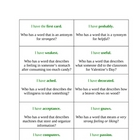 I Have, Who Has Vocabulary-  Macmillan/McGraw-Hill- 3rd gr
