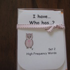 I Have, Who Has ready-made set! High Frequency Words, Set 2