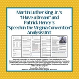 """""""I Have a Dream"""" and """"Speech in the Virginia Convention"""" A"""