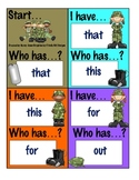 I Have...Who Has...? Game - Basic Sight Words.3