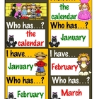 I Have...Who Has...? Game - Calendar Words