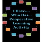 """I Have...Who Has...?"" Geometry Vocabulary Cooperative Lea"