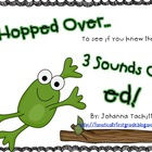 I Hopped Over...Reading Words with ed {Common Core Standard}