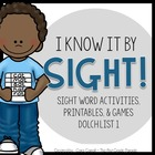I Know It By Sight! {Sight Word Activities, Printables, & Games}