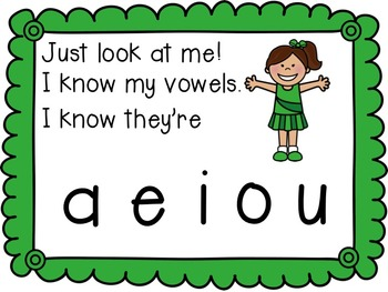 I Know My Vowels for the Smart Board, IWB,  or Computer