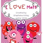 I LOVE MATH - 23 Print and Go Sheets