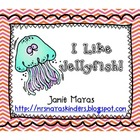 I Like Jellyfish - Ocean Writing/Center Activity