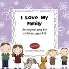 I Love My Family song for ages 4-8 (mp3)