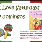 I Love Saturdays y Domingos Reading Focus Wall
