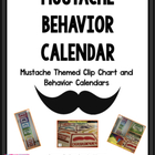 I &quot;Mustache&quot; You About Your Behavior: Mustache Clip Chart 