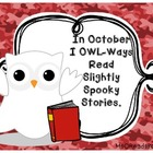 I Owl-Ways Read Slightly Spooky Stories