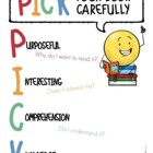 Reading Choices Display Poster