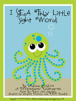 I SEA Tiny Little Sight Words-A Differentiated I Spy Sight