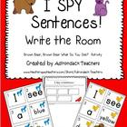 I SPY Sentences! Brown Bear, Brown Bear Activity