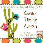 I &quot;Sea&quot; Some Great Students: Ocean Theme Awards
