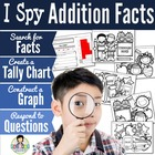 I Spy Addition Facts ~Back to School Edition~
