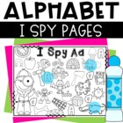 I Spy Alphabet Sheets for Letter Sound Recognition