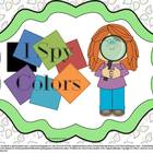 I Spy Colors - PreK, Kinder