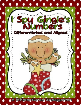 I Spy Gingie's Numbers: Differentiated and Aligned