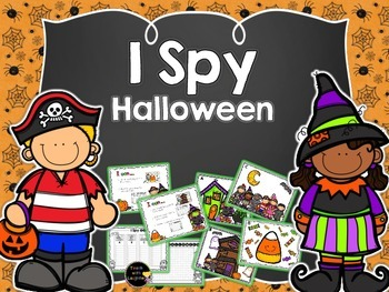 I Spy Halloween Words