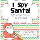 I Spy Santa {A Freebie Friday Download}