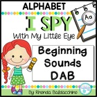 I Spy With My Little Eye ~ Alphabet Dab