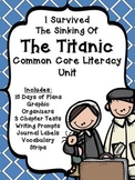 I Survived the Sinking of the Titanic Literacy Unit- Plans