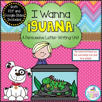 I Wanna Iguana {A Persuasive Letter Writing Unit}