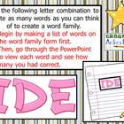"""I"" Word Family Bundle"