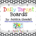"""I can"" Daily Target Boards"