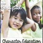 I Can Be A Pal-- building your classroom community
