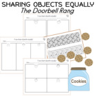 I can share objects equally Kindergarten Math Worksheets
