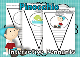 I can write about Pinocchio pennants