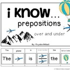 I know...Prepositions Where Is The Plane Flying? Over & Un