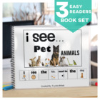 EASY READER I see...+ Noun Animal Edition Adapted Book Spe