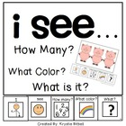 I see...How Many? Color? What? Farm Adapted Book Special E
