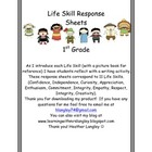 IB Attitude Writing Response Sheets 1st Grade